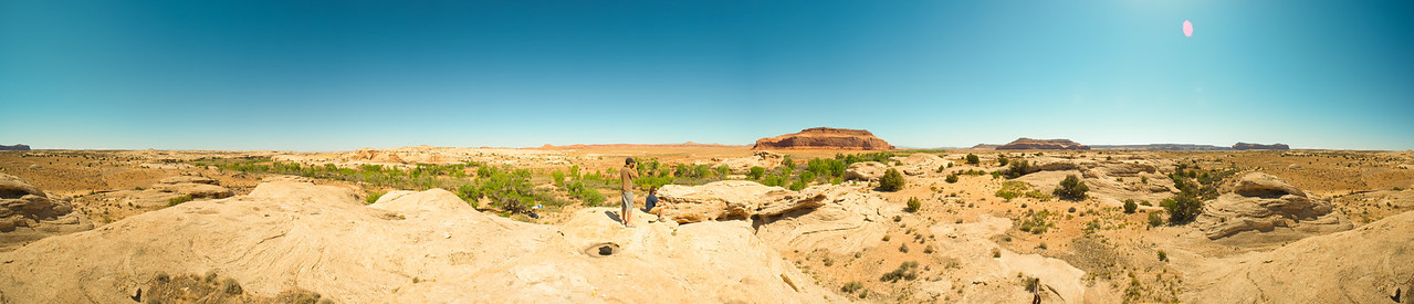 Our Utah Ramp and Camp Site. 370 degree panoramic