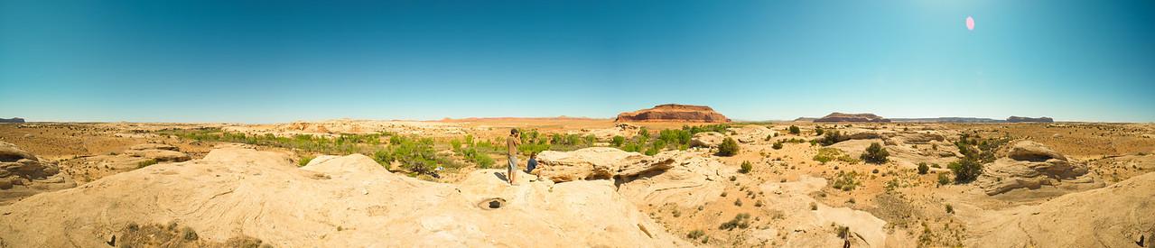 Our Utah Ramp and Camp Site. 370 degree panoramic